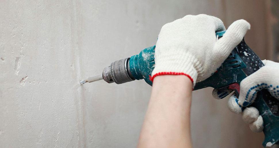 Универсальные свёрла по бетону на 6, 12 мм